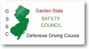 Garden state safety council for Nj motor vehicle point reduction course